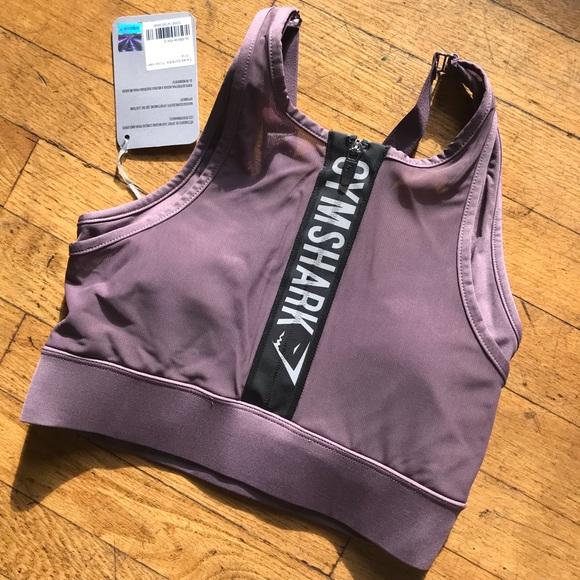 9bd8f59ad0 NWT Gymshark Elevate Sports Bra Top in Purple